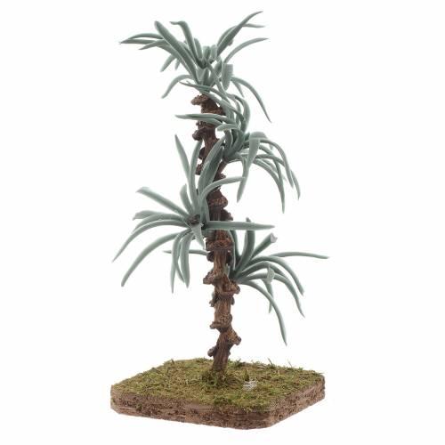 Palma con foglie rigide - 13 cm accessorio per presepe s2