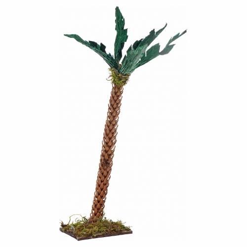 Palmier en miniature crèche Napolitaine 17 cm s1