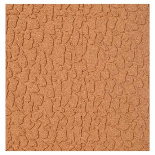Pannello sughero muro pietra cm. 100x50x1 s1