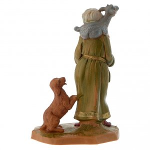 Pastor con cabra y perro 12 cm Fontanini s3