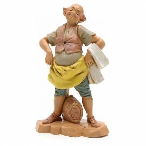 Figuras del Belén: Pastor con el barril 12cm Fontanini