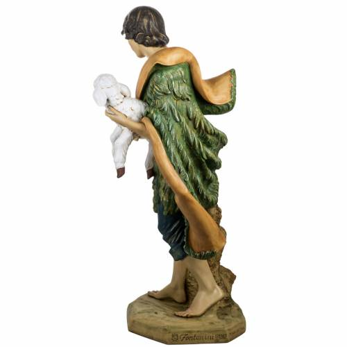 Pastor con oveja 125 cm. pesebre Fontanini s4