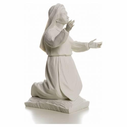 Pastora Jacinta 22cm de mármol blanco s2