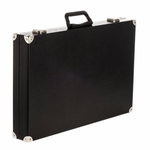 Pastoral staff case, crozier with olive leaves s1