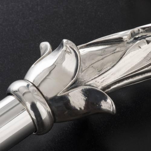 Pastorale in argento 966/1000 e metallo mod. foglie s7