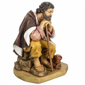 Statue per presepi: Pastore con cane 65 cm presepe Fontanini