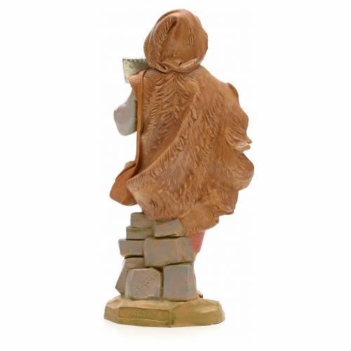 Pastore con flauto 19 cm Fontanini s2