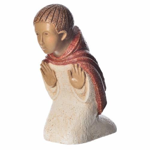 Pastore in contemplazione rosso Presepe Contadino s1