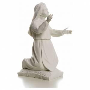 Pastorella Giacinta 22 cm marmo bianco s2