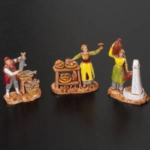 Pastores belén 6 personajes de 3 cm. Moranduzzo s3