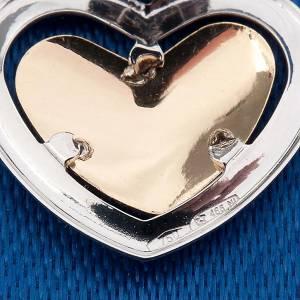 Pendenti, croci, spille, catenelle: Angelo di Raffaello cuore oro 750/00 - gr. 0,90