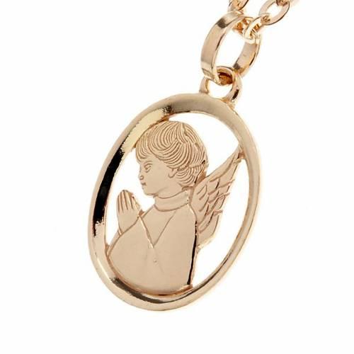 Pendentif ange custode or 750/00 - 1,55 gr s1