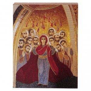 Pentecoste Rupnik stampa 5x5 cm s1