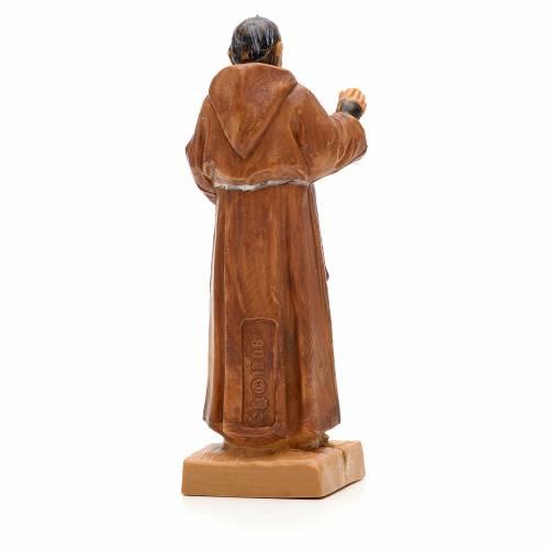 Père Pio de Pietralcina, statue 7 cm Fontanini s2