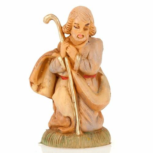 Saint Joseph avec bâton 8 cm s1