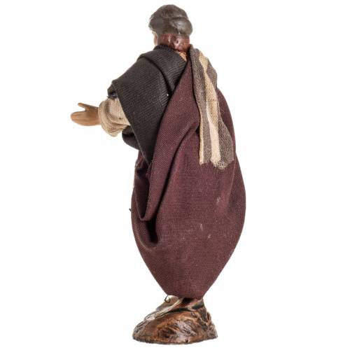 Pesebre Napolitano vendedor con turbante 8cm s3