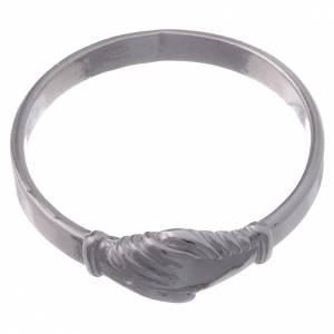 Pierścionek Dłonie srebro 925 s2