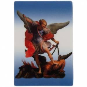 Magnets religieux: Planche magnétique Saint Michel