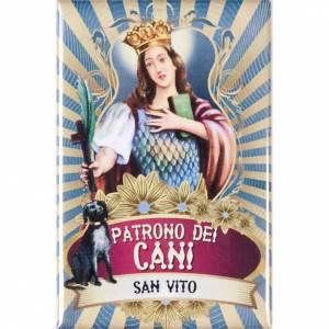 Religiöse Magnete: Platte Heilig Vito lux