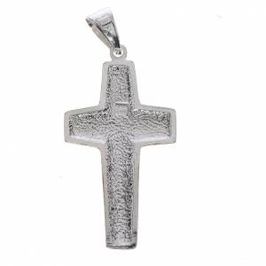 Pendants, crosses and pins: Pope Francis, Good Shepherd cross 800 silver