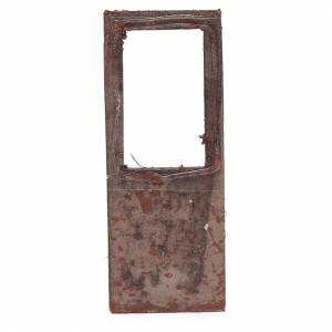 Ringhiere, inferriate, porte: Porta per presepe 15x5 cm in legno