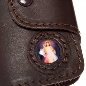 Portachiavi: Portachiavi pelle 6 ganci e chiusura Gesù