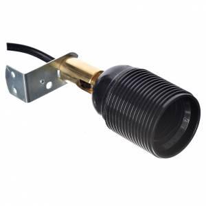 Luci presepe e lanterne: Portalampada E27 con snodo orientabile per presepi