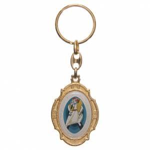 Porte-clés: STOCK Porte-clef métal doré Jubilé Miséricorde