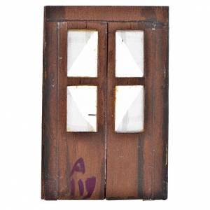 Porte en miniature crèche Napolitaine 12,5x8 cm s2