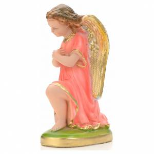 Praying angel statue in plaster, 25 cm s3