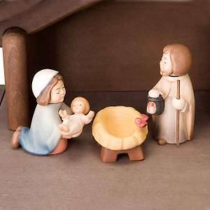 Presepe Bambini legno con magneti s5