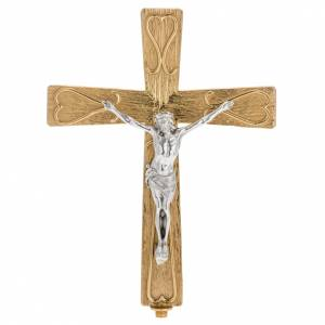 Processional crosses and stands: Processional cross - decorated metal