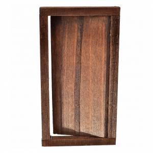 Barandillas, puertas, balcones: Puerta 1 ante en madera con clavados 9x5 cm