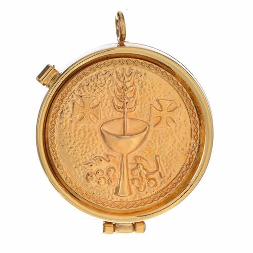 Pyx, golden with chalice 53mm s1