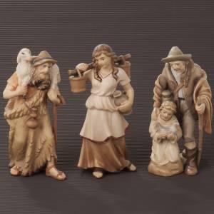 Nativity scene from Val Gardena: Raffaello crib 12 cm
