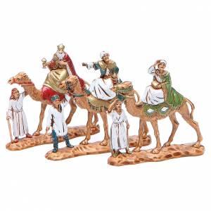 Re Magi e cammelli 3,5 cm Moranduzzo 3pezzi s1