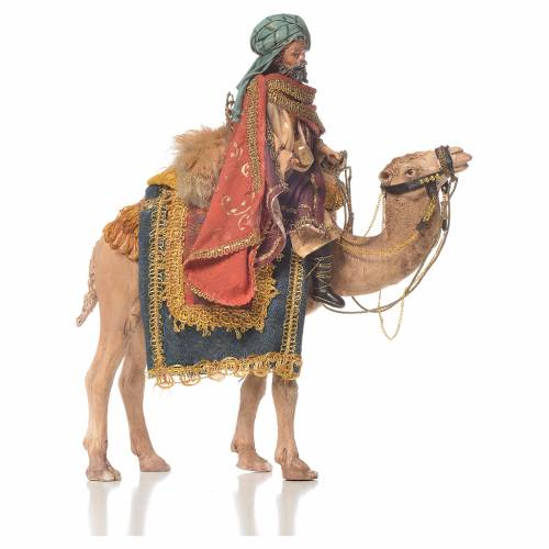 Re magio bianco a cammello 13 cm Angela Tripi s1