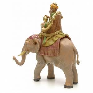 Re magio mulatto su elefante 12 cm Fontanini s2