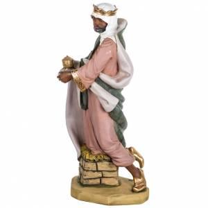 Statue per presepi: Re Magio nero 85 cm Fontanini