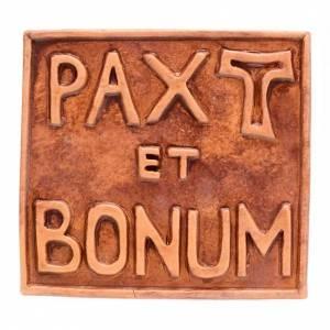 Relief en céramique Pax et Bonum s2