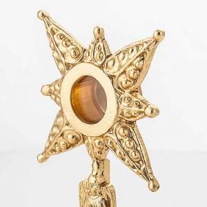 Ostensoirs, Reliquaires  en métal: Reliquaire avec étoile