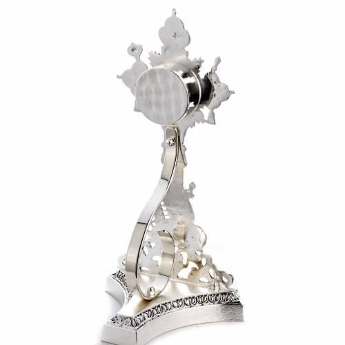 Reliquiario della Santa Croce ottone fuso s4