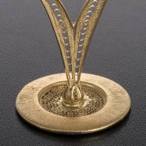 Reliquiario filigrana arg. 800 pietre rosse s4