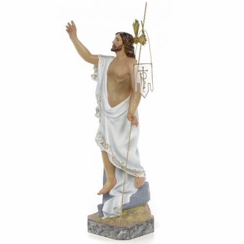 Resurrected Christ 40cm, wood paste, superior decoration s2