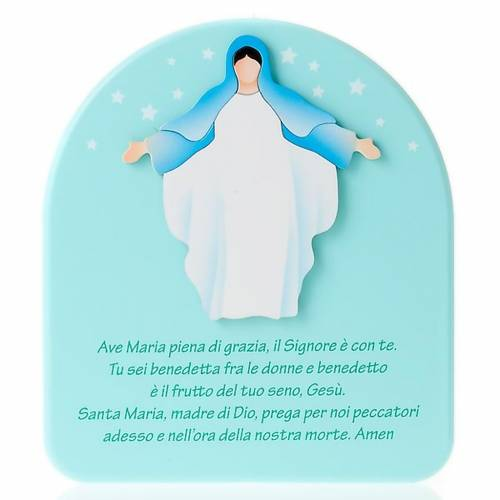 Retable Vierge Ave Marie, accueil s1