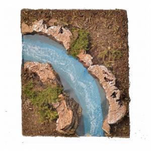 Río componible corcho: curva izquierda s1