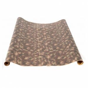 Fondos y pavimentos: Rollo de papel rocas pesebre 100 cm x 5 mt