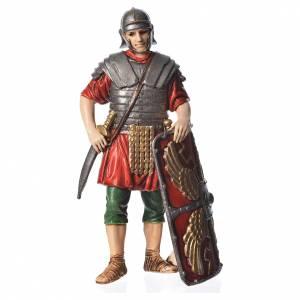 Nativity Scene by Moranduzzo: Roman soldier with shield, nativity figurine, 13cm Moranduzzo