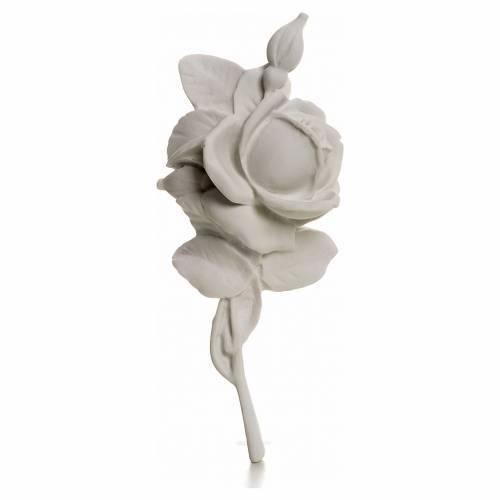 Rosa decoración 18 cm, para aplicaciones s1
