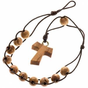 Rosari olivo Assisi: Rosario decina tau doppia legatura